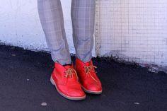 FOUREYES - New Zealand Street Style Fashion Blog: RED SHOES