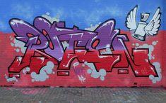 Stencil Art, Stencils, Graffiti Lettering Fonts, Graffiti Painting, Street Art Graffiti, Urban Art, Hair Shaver, Neon Signs, Wall Art