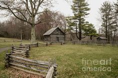Puckett Cabin by Jim Cook