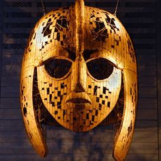 Sutton Hoo mask ES 31 08 06 ES 18 01 07