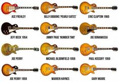 Modelos Les Paul by Gibson Gibson Les Paul, Gibson Lp, Gibson Guitars, Guitar Girl, Guitar Shop, Music Guitar, Billy Gibbons, Eric Clapton, Hard Rock