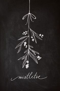 I love all of these beautiful Christmas chalkboard inspiration. I love all of these beautiful Christmas chalkboard inspiration. Merry Little Christmas, Noel Christmas, Christmas And New Year, Winter Christmas, Christmas Crafts, Christmas Design, Simple Christmas, Christmas Tattoo, Christmas Feeling