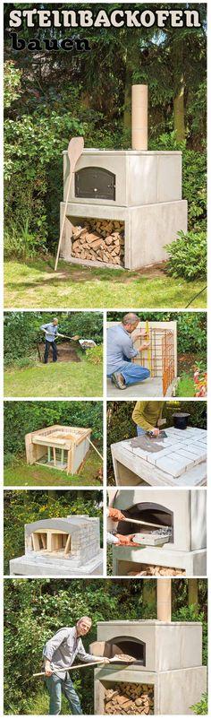 Mit einem Backofen aus Stein im eigenen Garten schaffst du dir die Möglichkeit…