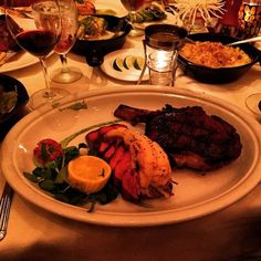 """""""The in-bone filet and cream spinach are amazing! Large portions too! My GF and I were able to split it."""" -Jonathan Brownfield"""