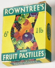 Rowntree's fruit pastilles in a box! Wow used to get these bought as a treat to go into to the cinema with lol