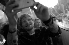 Ed Sheeran B&W aesthetic