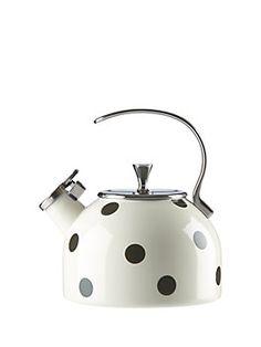 Kate Spade New York deco dot tea kettle