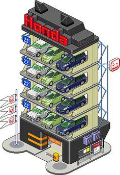 Pt Hondaparkhaus 01T