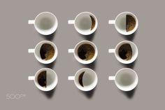 Coffee Phases by Stanislav Novak - Photo 151194251 - Pale Aesthetic, Coffee Plant, Creative Photos, Creative Photography, Design Inspiration, Tableware, Gd, Java, Drink Recipes