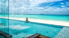 Four Seasons Resort Maldives At Landaa Giraavaru - I mean come on. Is this even real? Frickin gorgeous.