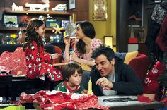 HIMYM - Ted, Tracy, Penny and Luke =)