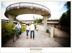 Portland, Oregon engagement photography with {Casey + Damon}