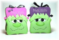 Stamp a Little Love Baby!: Mr. & Mrs. Frankie Treat Boxes