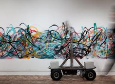 Meet The Jackson Pollock Of The Robot Art World | Co.Design | business + design