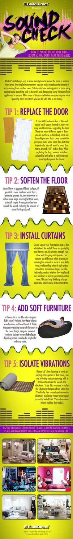 How To Soundproof Your Kid's Room - Step by Step Guide to getting a quieter home!