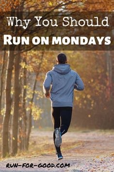Running on Mondays is a great strategy to establish a running habit. Find out why you should run on Mondays and get tips on how to do it consistently. Running Routine, Running Workouts, Running Tips, Beginner Running, Half Marathon Training, Marathon Running, Running Motivation, Monday Motivation, Jogging For Beginners