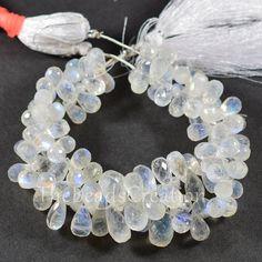 Grey Moonstone  Fancy Shape Beads Grey Moonstone   Fancy  Briolettes NEW 94