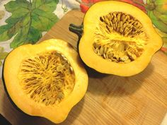 The Mighty Acorn Squash ~ FULL of nutrition. Here's the scoop: http://nancynewcomer.com/2012/10/24/the-mighty-acorn-squash/