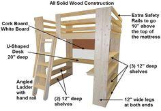 Custom Loft Bed