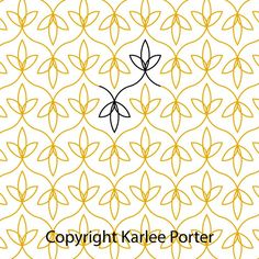 Loopy Leaf – Set of 3 – Karlee Porter Longarm Quilting, Machine Quilting, Embroidery Patterns, Quilt Patterns, Traditional Quilts, Quilt Stitching, Quilting Designs, Packaging Design, Two By Two