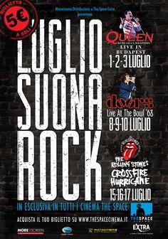 Vinci Queen, Rolling e Doors al cinema con The Space e Carta Giovani! http://cartagiovani.it/news/2013/06/20/luglio-suona-rock-queen-doors-e-rolling-tornano-al-cinema-con-space