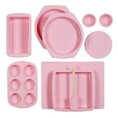 pink silicone bakewear