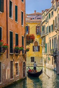 Gondola on a Canal in Venice, Italy-Brian Jannsen-Photographic Print Places Around The World, The Places Youll Go, Places To Go, Around The Worlds, Italy Vacation, Italy Travel, Venice Painting, Italy Painting, Northern Italy