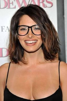 Glasses haircut