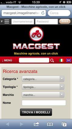 Macgest.com è navigabile anche via cellulare (responsive web design)
