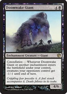mtg-BLACK-THEROS-DECK-doomwake-giant-huthonia-Magic-the-Gathering-rare-cards-lot