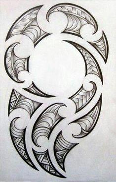 [fineliner + pencil - August Maori-inspired design for my brother's tattoo. Maori design for my brother Maori Tattoos, Maori Tattoo Frau, Ta Moko Tattoo, Filipino Tattoos, Samoan Tattoo, Body Art Tattoos, Small Tattoos, Tattoos For Guys, Borneo Tattoos