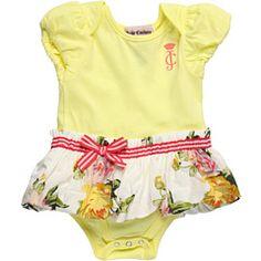 Juicy Couture Kids - Girls' Floral Dress Bodysuit (Infant)
