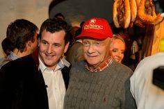 Marc Pricher und Niki Lauda - www.stanglwirt-weisswurstparty.com Party, Fashion, Celebrations, Moda, Fashion Styles, Fasion, Receptions, Parties