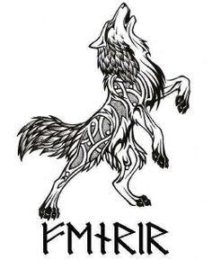 Le Loup scandinave Fenrir