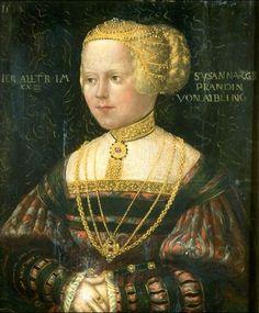 1538 Hans Schopfer - Susana Prand von Aibling