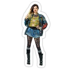 """""""Janis Mean Girls the Musical"""" Stickers by LovegoodCosplay Mean Girls Costume, Girl Costumes, Costume Ideas, Broadway Theatre, Musical Theatre, Mean Girls Janis, Broadway Costumes, Having A Crush, Costume Design"""