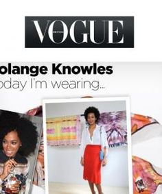 solange knowles posing in front of JUMA scarves