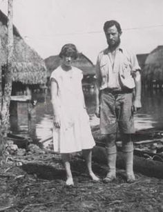 Famed anthropologist  Margaret Mead supposedly had traditional Samoan legging tattoos done in the 1920's