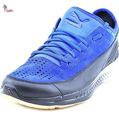 Smash CV, Sneakers Basses Homme, Blanc White-True Blue 13, 40 EUPuma