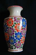 Seltene handbemalte Vase von Rojal Epiag