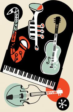 Jazz Combo Artwork Print