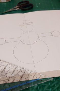 Weihnachtskarten selber basteln in wenigen Minuten   Honey-loveandlike.de   Lifestyleblog Container, Bricolage, Stencils