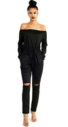Longwu Women's Fashion off-Shoulder Drawstring Jumpsuits ... https://www.amazon.com/dp/B01LAGR2GW/ref=cm_sw_r_pi_dp_x_UthzybCVYZWA1