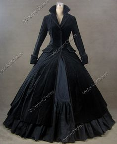 Victorian riding coat dress for when I travel back in time....