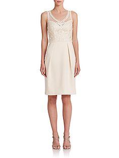 b8cd8f2d2e4 Sue Wong - Soutache-Embroidered Dress