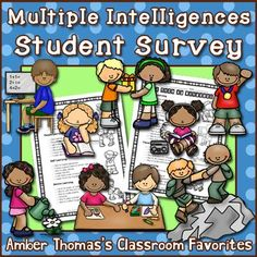This survey will help you get to know your students' strengths.  $