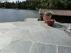 Garden Stones, Terrace, Pergola, Sidewalk, Home And Garden, Exterior, House Design, Patio, Backyards