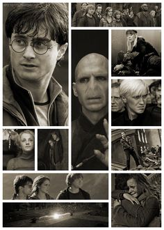 Harry Potter and the Deathly Hallows: Part 2 Harry, Ron and Hermione search for Voldemort's remaining Horcruxes in their effort to destroy the Dark Lord. Harry Potter Love, Harry Potter Books, Harry Potter World, James Potter, Lord Voldemort, Film Scene, Ron Y Hermione, Draco, Must Be A Weasley