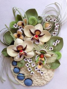 Art's Quilling-By: Anastasiya Bertova Quilling Tutorial, 3d Quilling, Paper Quilling Flowers, Quilled Paper Art, Paper Quilling Designs, Quilling Paper Craft, Quilling Patterns, Diy Paper, Paper Crafts