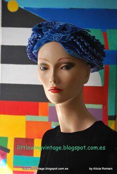 Colección sombreros años 20 . 20´hats colection. V